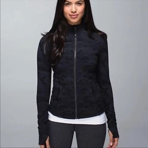 Lululemon Black Camo Define Jacket